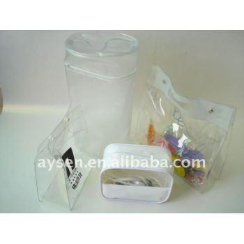 Bolsas de regalo de pvc de plástico a granel