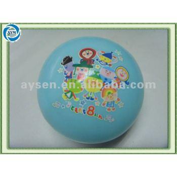 Grande bola inflável de água