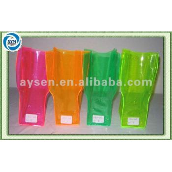 Dobrável pvc flor vasos