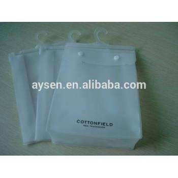 PVC transparente Embalagem Saco Plástico Para Lençol