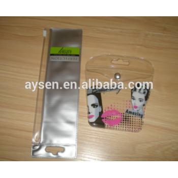 Logotipo personalizado plástico hermeticamente fechado bolsa Zip