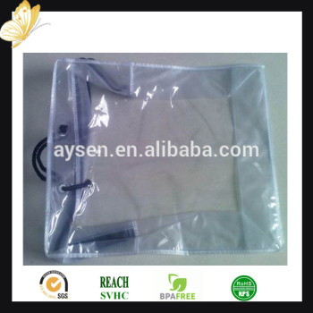 Пластиковый мешок застежки-молнии для подушки / покрывало / одеяло