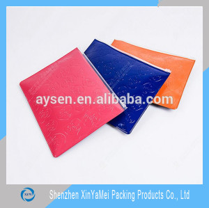 cheap and good quantity pvc zip bag