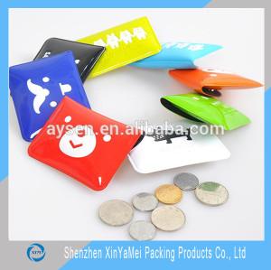 pvc coin bag/pvc key wallet/pvc key bag