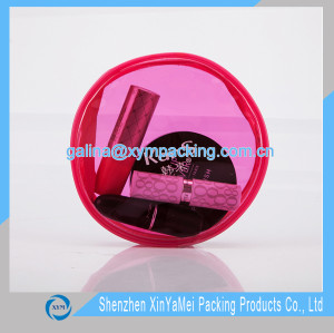 High quality plastic customize transparent pvc pouch