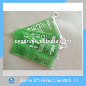frosted vinyl ziplock bag with printing