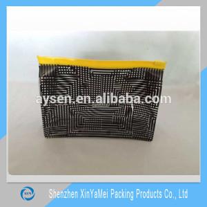 custom eco-friendly clear pvc bag / pvc pouch