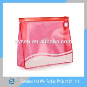 promotional zipper Clear pvc pouch