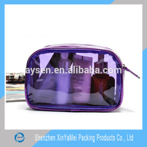 China Manufacturer for pvc transparent zipper pouch
