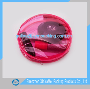 pvc pouch for cosmetic