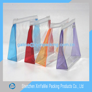 High quality clear cosmetic pvc bags