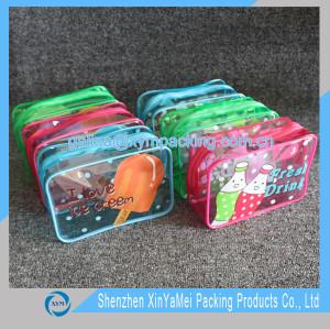 clear vinyl cosmetic bag