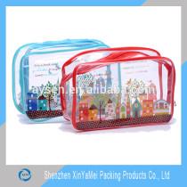 pvc clear cosmetic bag