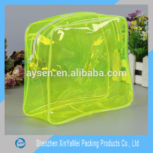 clear cosmetic pvc bag