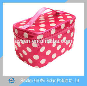 Nylon Material and Bag Type travel cosmetic bag