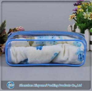 PVC toiletry bag with zipper for travel