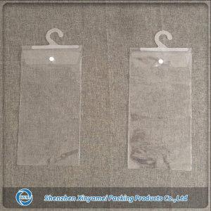 plastic snap hanger bag