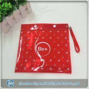 Clear Button Clothes PVC Bag