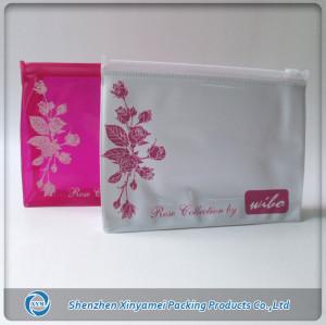 pvc cosmetic bag zipper