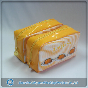 fashion travel transparent clear plastic pvc cosmetic Bag