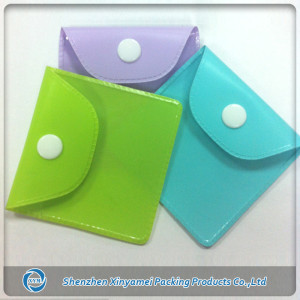 Special Woman Mini Plastic PVC Bag With buttom