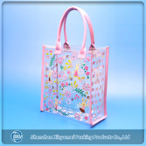 clear pvc shopper bags,pvc shopping bags