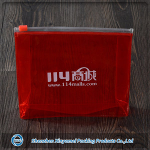 pvc make up bag / zipper top pvc pouch bag for cosmetic packaging