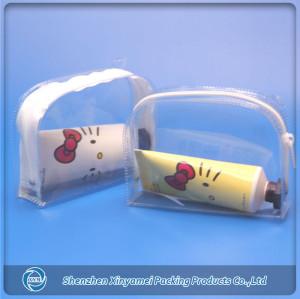 transparent pvc plastic zipper laundry bag