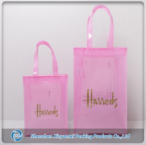 Handled Style and pvc,PVC Material large vinyl pvc tote bags