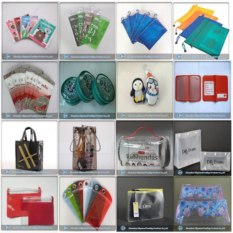 pvc zipper bag