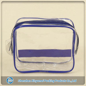 well-designed PVC transparent bag