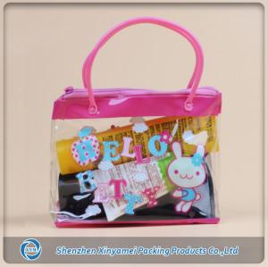 pvc handle bag