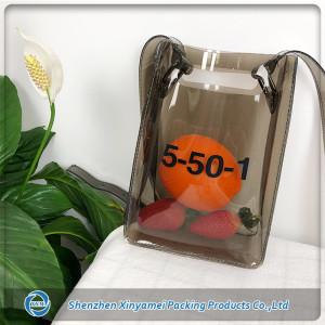 Fashion Clear PVC Tote Shopping Bag