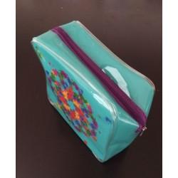塑料PVC拉链化妆包 PVC塑料拉链化妆袋可定制