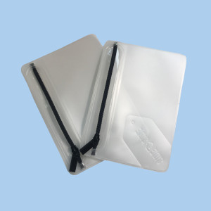 embossed waterproof frosted EVA zip lock packing storage plastic bags