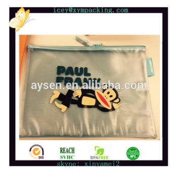 袋状タイプとドキュメントバッグビニールファイルの袋