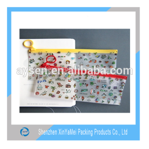 Opaque Zipper lock travel PVC pouch