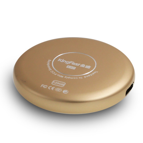 KingFast Portable mobile solid state hard disk 120GB