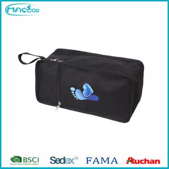 Multicolor storage use PVC travel shoe bag