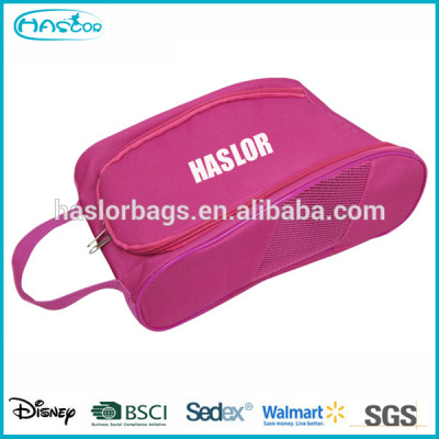 2015 new design custom fabric shoe bag for travel