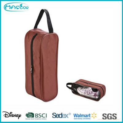 Wholesale custom waterproof jacquard shoe storage bag for travel