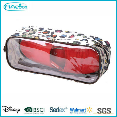 2015 wholesale cheap custom waterproof PVC shoe bag for family