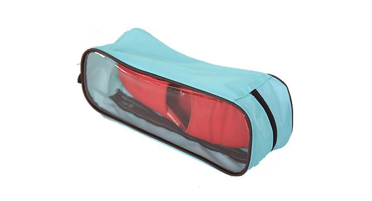 2015 wholesale cheap custom waterproof PVC shoe bag for family