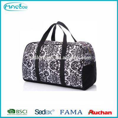Durable shoulder travel bag for men with handle