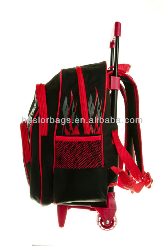 2014 New Style School Trolley Bag with Wheels for Kids