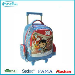 Enfants sac à roulettes de l'école à dos avec roues pour garçons