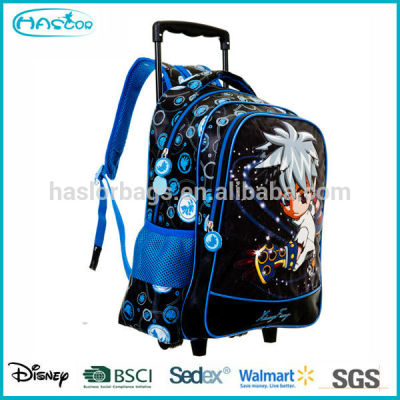Wholesale Kids Trolley School Bag with Wheels for Boys Trolley Backpack