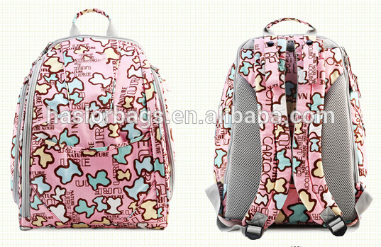 Diaper Baby Bags with Cartoon Character for Women