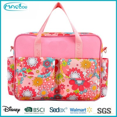 New design of flower pattern mummy bag for lady