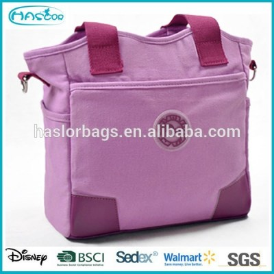 High quality ployster fashion nice mommy bag cute diaper bags